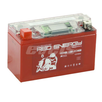 Red Energy DS12-08 (YT7B-BS 8 А/ч)